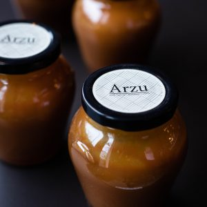 Arzu Caramel: jar of caramel